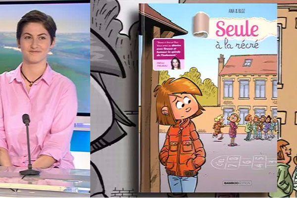 Ana, originaire de Dunkerque, publie avec son père le dessinateur Bloz une BD sur le harcèlement scolaire dont elle a été victime.