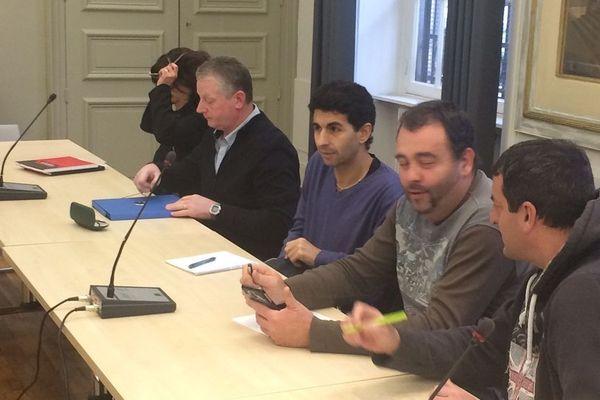 Les représentants de l'entreprise Steva de Bessines ont rencontré le préfet de Haute-Vienne ce lundi 17 décembre