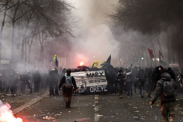La manifestation du 5 décembre a été émaillée de heurts aux abords de la place de la République.