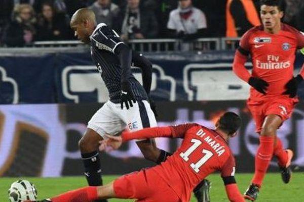 Diego Rolan a marqué le but de l'égalisation pour les Girondins