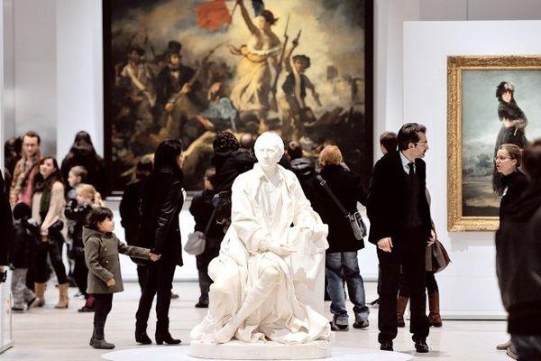 Le Louvre-Lens au moment de son inauguration il y a un an.