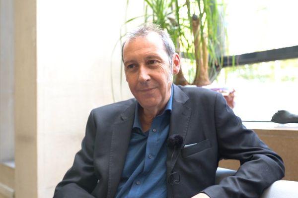 Fabien Bazin, maire de Lormes (Nièvre) et conseiller départemental du canton de Corbigny.