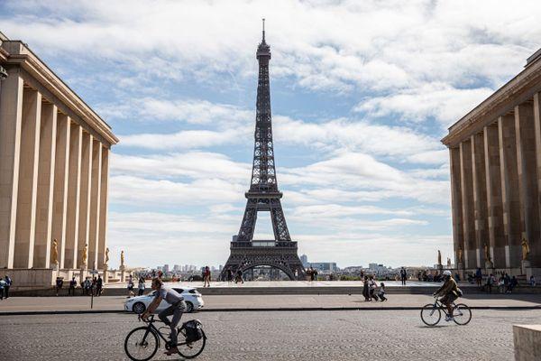 L'esplanade du Trocadéro à Paris (illustration).
