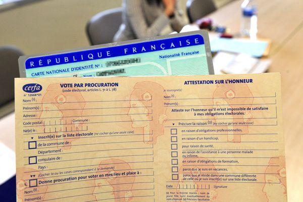 La procuration permet de voter, en cas d'absence de sa commune, le jour d'un scrutin