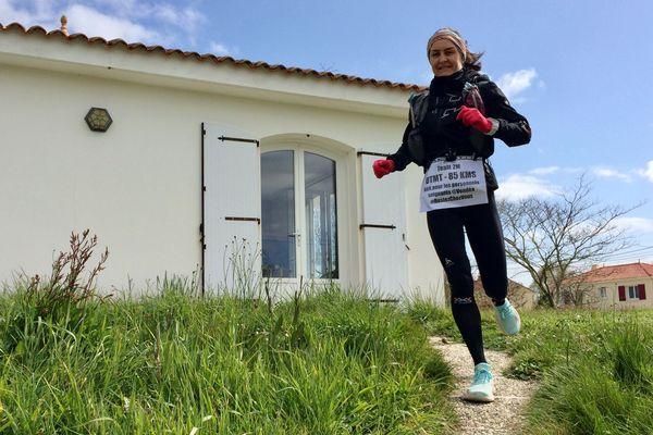 Melinda Morelle s'est prise de passion pour les trails et les courses extrêmes il y a seulement trois ans.