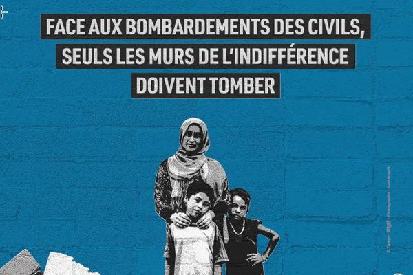 Coronavirus-Covid 19 : à Lyon, la pyramide de chaussures d'Handicap International sera remplacée par des actions citoyennes et solidaires, notamment sur les réseaux sociaux.