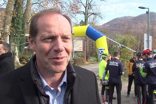 Christian Prudhomme a annoncé mardi la tenue d'une étape de Paris-Nice en Isère.