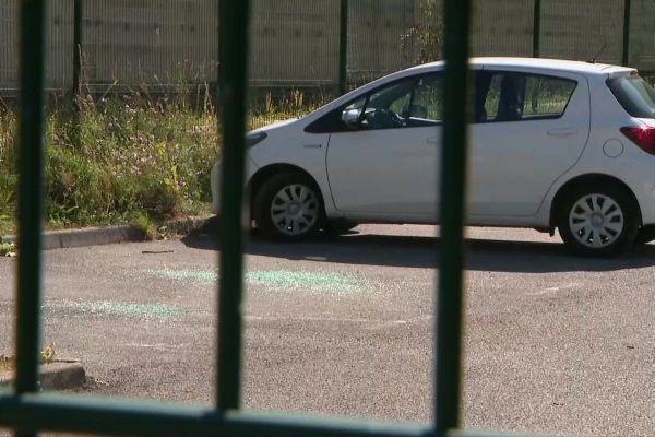 En juillet 2020, plusieurs véhicules avaient déjà été pris pour cible sur le parking du centre pénitentiaire - ARCHIVES
