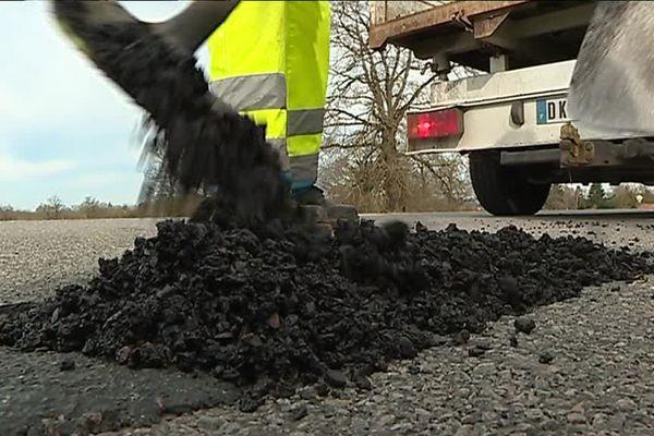 Après un hiver difficile, le travail ne manque pas sur les routes du Limousin