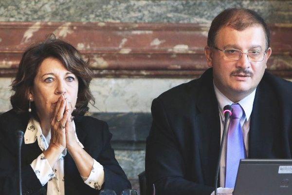 La conférence de presse à Bruxelles