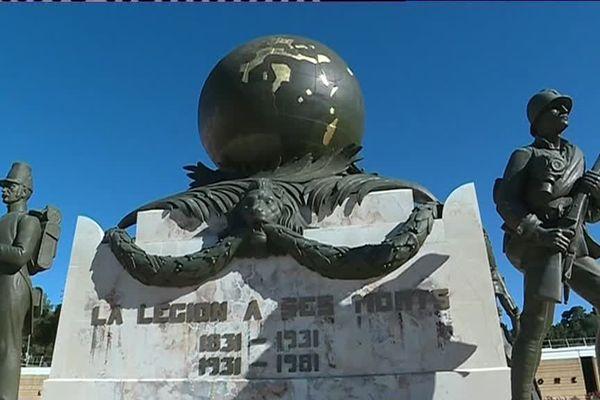 Monument aux morts de la légion étrangère à Aubagne