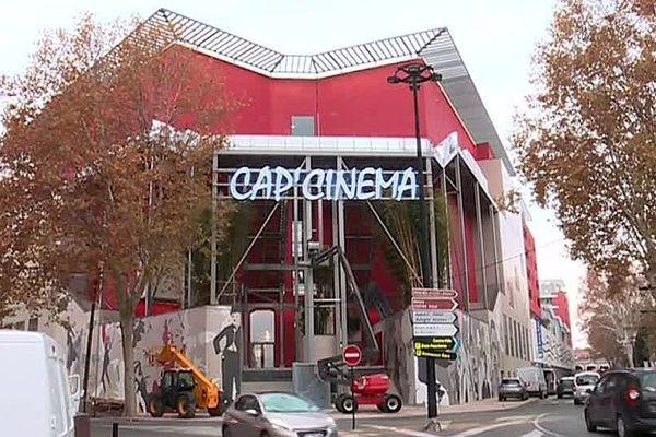Nîmes - le nouveau complexe Cap'Cinéma - novembre 2017.