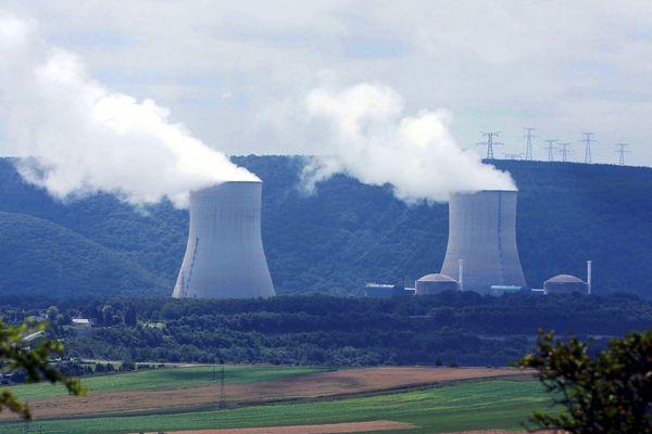 La centrale nucléaire de Chooz dans la pointe des Ardennes.