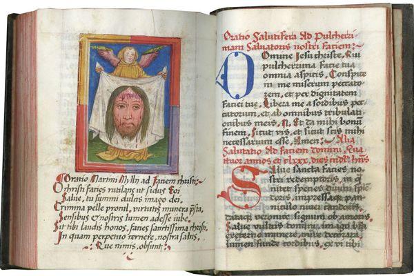 Livre de prière de la fin du Moyen Age