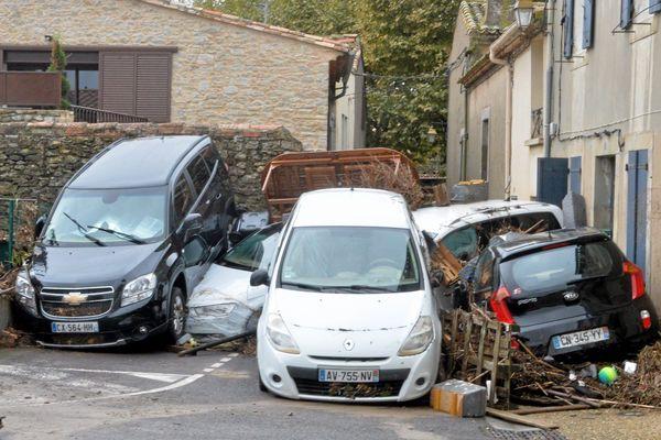 Inondations Aude octobre 2018 : 5000 véhicules endommagés