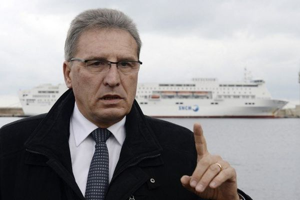 Marc Dufour, président du directoire de la SNCM
