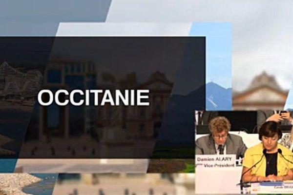Le nom Occitanie pressenti avant le vote du nom de la région LRMP à Montpellier le 24 juin 2016