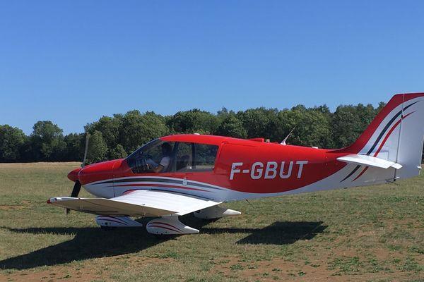 Le DR-400, l'avion piloté par Laura