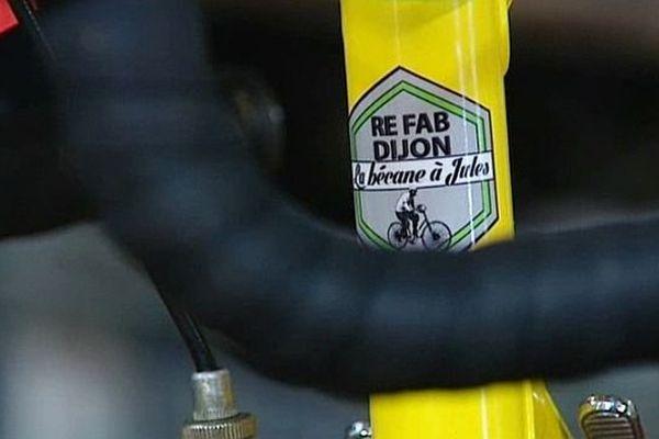"""L'association La Bécane à Jules a lancé sa marque de vélos baptisée """" Re Fab-Dijon"""""""