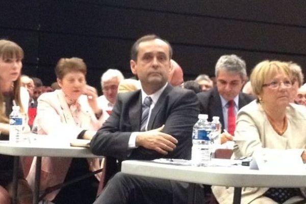 Robert Ménard après le vote du 17 avril