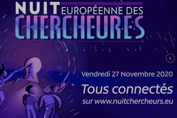 """L'opération """"la nuit européenne des chercheurs"""" est en ligne, du lundi 23 au vendredi 27 novembre, avec l'université de Franche-Comté."""