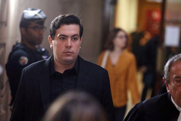 Esteban Morillo, lors de son premier procès en 2018 à Paris.