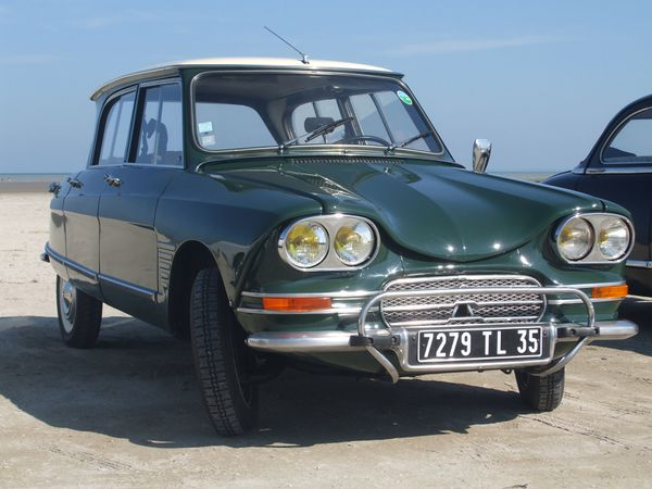 Ami 6 restaurée par Charles, modèle 1969