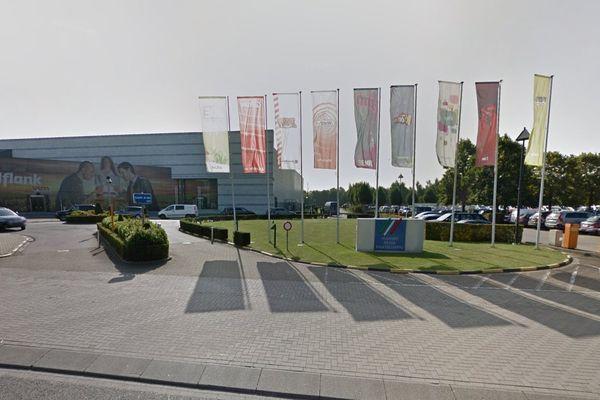 Vue du bâtiment Medialaan en Belgique.