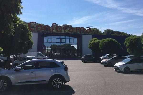 Le magasin Conforama de Morsbach près de Forbach en Moselle va fermer.