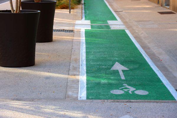 Certains axes déjà aménagés posent problème aux cyclistes chaumontais qui trouvent certaines pistes cyclables trop étroites.