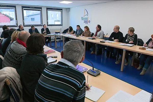 Une réunion a eu lieu ce jeudi 7 décembre à Vesoul, dans le but de définir les contours du GLTD.