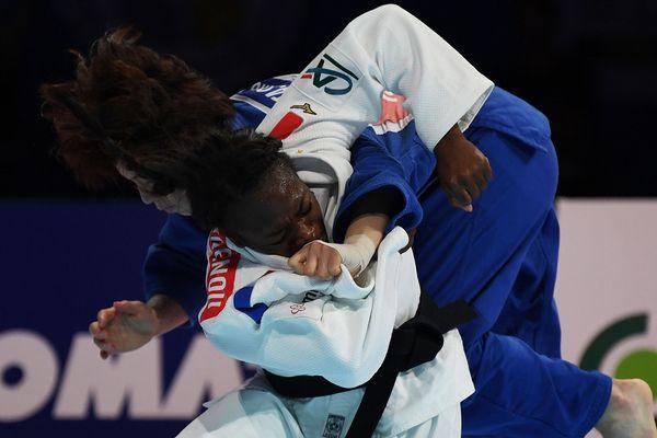 Clarisse Agbegnenou a combattu plus de 11 minutes face à la Japonaise Miku Tashiro.