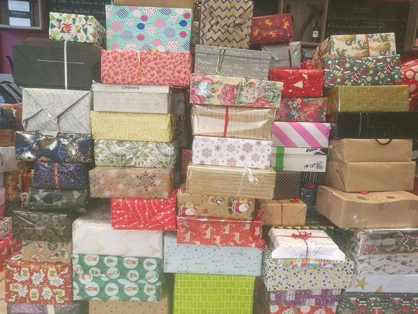 Plus de 3.000 boîtes cadeaux pour les sans-abris ont été récoltées à Nancy.