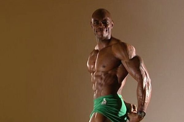 Antony Bessala, champion de body-building naturel