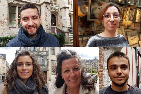 Les Normands rencontrés dans les rues de Rouen envisagent leurs vacances estivales sur le sol français