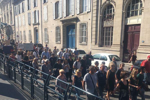 1500 citoyens soucieux pour le climat étaient dans les rues de Nancy, ce samedi 21 septembre 2019.