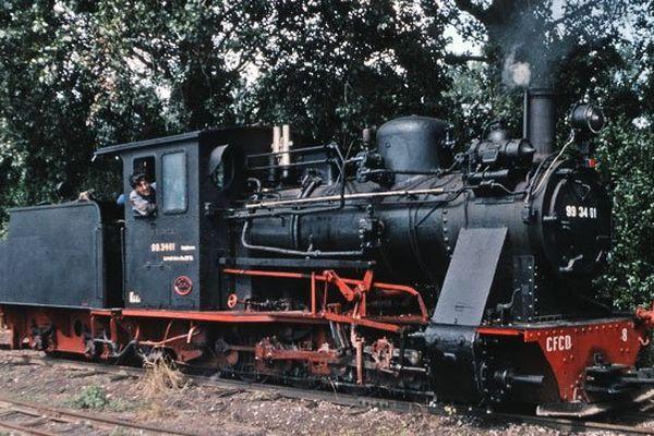 La locomotive à vapeur Vulcan