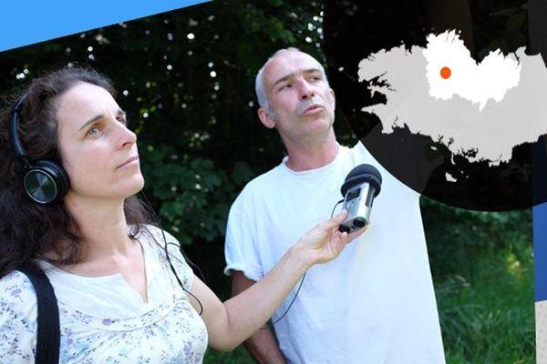 Morgan qui travaille à RKB interroge Cyril, pépiniériste sur ses méthodes de travail.