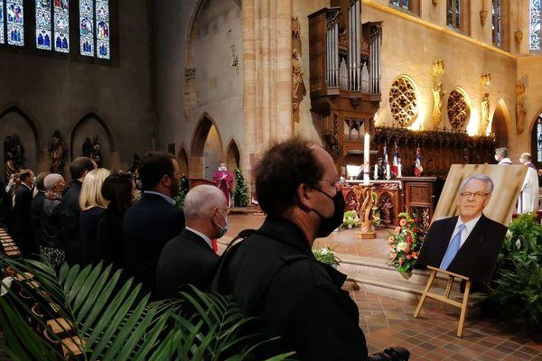 Les obsèques de Gilbert Meyer, ancien maire de Colmar, se sont déroulés ce vendredi 25 septembre en la Collégiale Saint-Martin