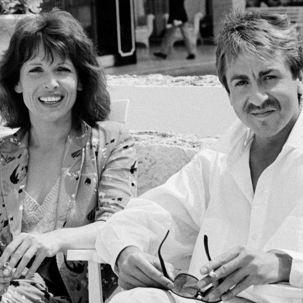 """Bruno Carette, comédien et humoriste, est mort de la maladie de Lemp (ici avec Chantal Lauby, autre membre de """"les Nuls"""" avec laquelle il a débuté sa carrière à FR3)"""