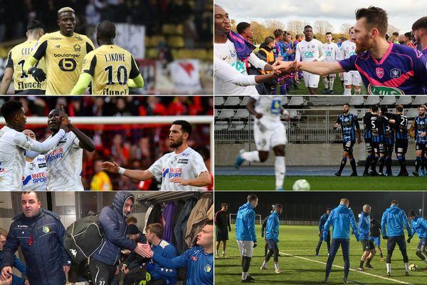 Lille, Valenciennes, Amiens, Chambly, Le Portel et Grande-Synthe jouent ce week-end en Coupe de France.