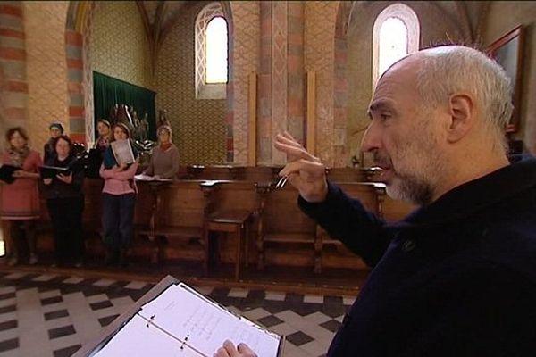 Le stage s'achève par un concert en l'Abbatiale de Moissac, mardi 1er novembre, à 15h30.
