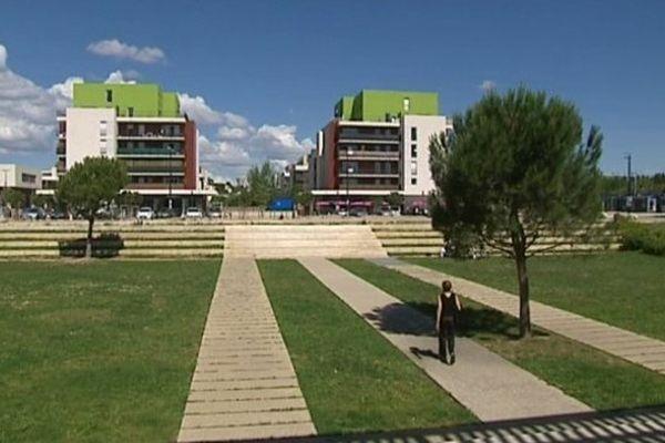 A Montpellier, le quartier Malbosc avec son grand bassin de rétention est un bon exemple d'urbanisme refléchi.