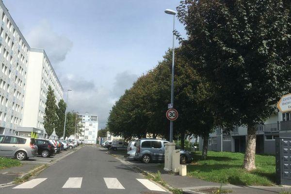 Quartier de Kérourien à Brest