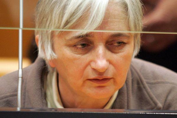 Monique Olivier, en 2008 au tribunal de Charleville-Mézières.