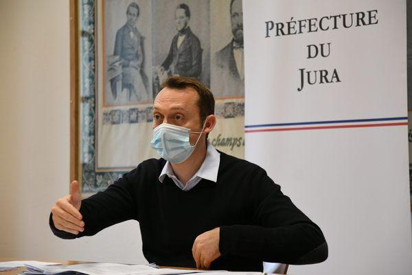 David Philot, préfet du Jura