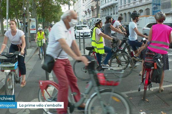 Plus de 2,5 millions de cyclistes comptabilisés le long du Rhône depuis le 1er janvier dernier
