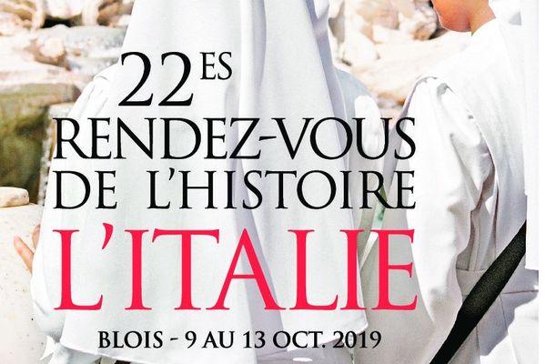 L'Italie est à l'honneur à Blois pendant Les Rendez-vous de l'Histoire