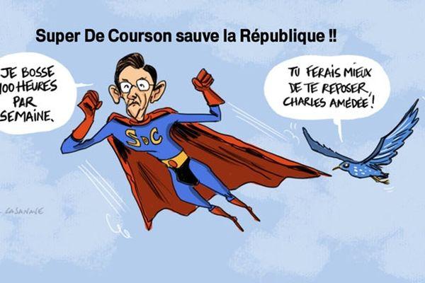 Le député-maire de la Marne Charles De Courson champion du cumul des mandats.