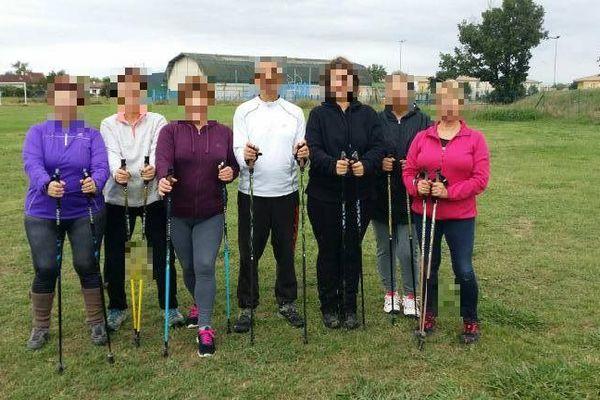 Le professeur (ici au centre) donnait des cours de gymnastique à des enfants mais aussi à des adultes dans plusieurs communes situées autour de Moissac (Tarn-et-Garonne)
